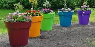 Le choix des bacs et des pots à fleurs